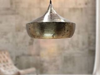 Carbon loft Hoesl 14 5 inch Metal Sphere 1 light Pendant Retail 82 99
