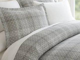 Elegant Comfort luxury Silky Soft Polka Dot Patter Duvet Cover Set