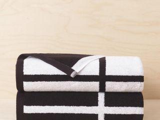 Sparrowhawk Brandon 100  Cotton  Reversible  2 Piece Bath Towel Set