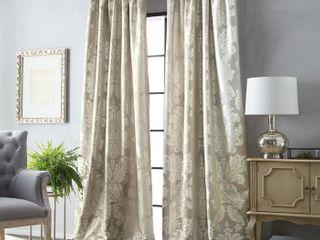 Martha Stewart Palermo Pole Top 50  x 84  Curtain Panel
