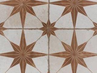 SomerTile 17 625x17 625 inch Royals Estrella Oxide Ceramic Floor and Wall Tile  3 tiles SAMPlE
