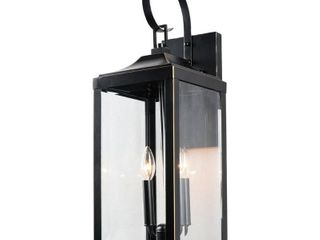 Rockies Containers 2 light 20 2 in  Outdoor Hanging lantern in Imperial Black