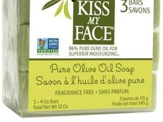 Kiss my face soap bar 3 ok pure olive oil