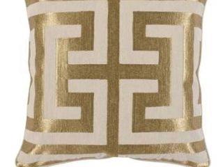 Carson Carrington Ranglebyn Embroidered 22 inch Throw Pillow