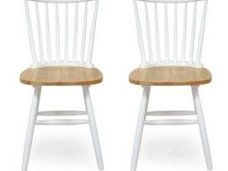 Balcomb Farmhouse Dining Chairs set of 2