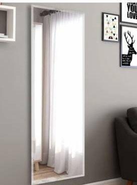 Simple Frameless Polished beveled edge full length wall mirror