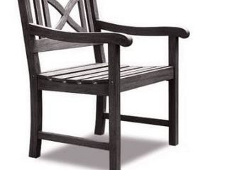 Surfside Weather resistant Outdoor Hand scraped Hardwood Armchair by Havenside Home Retail 106 49