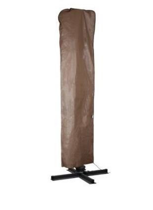Bathurst Brown Water Resistant Umbrella Cover for 9 11 foot Umbrella Parasol by Havenside Home