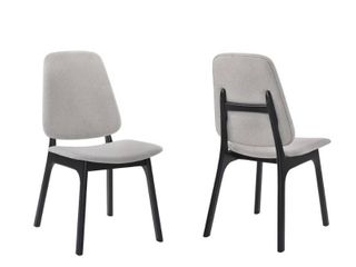 Omax Decor loren Dining Side Chair  Set of 2  Retail 229 99