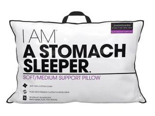 I AM A Stomach Sleeper   White