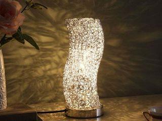 Artemis Exposed Aluminum Wired Curve Table lamp