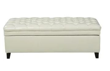 Hastings Tufted Fabric Storage Ottoman Bench by Christopher Knight Home   Retail 178 00