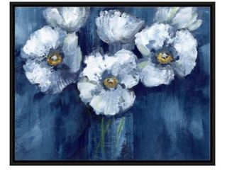 Print Only  Broken Frame No Glass  Blooming Poppies Premium Framed Print 38  x 27    Retail 129 99