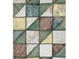 SomerTile Gala Totto Ceramic Wall Tile  34 Complete Tiles 45 Corner Chipped Tiles