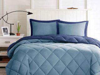 Porch   Den McCloy Reversible Down Alternative Comforter Twin Twin Xl Mini Set