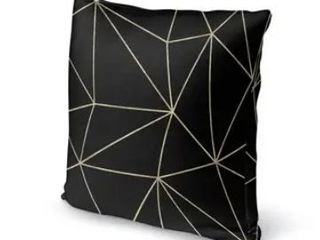 Prism Dark Gold 16  x 16  Accent Pillow By Kavka Designs  Set of 2
