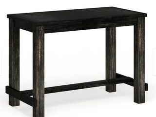 Furniture of America Vevo Black Solid Wood Bar Table  Retail 513 85