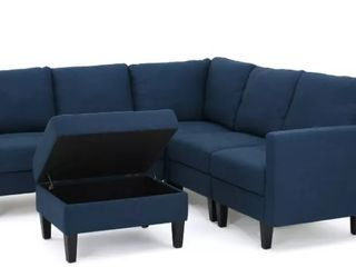 Incomplete  Set of Only 2 Chairs  Zahra Sofa Seat by Christopher Knight Home