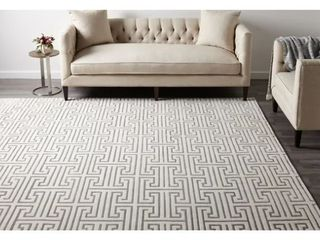 Cora Contemporary Hand Knotted Indoor Area Rug  9  x 12    Retail 1094 99
