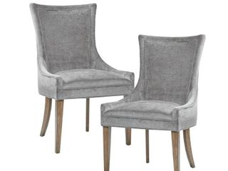 Madison Park Signature Ultra Dining Side Chair Set of 2  Hardware Missing  Retail 376 99