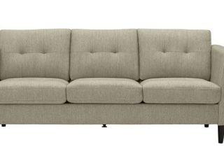 Carson Carrington Vestfold Modern Fabric Sofa  Retail 475 99