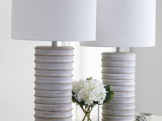 Set of 2  Melina Table lamp by Safavieh