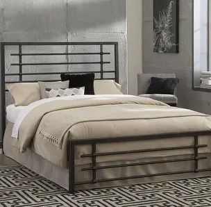 Colton Metal SNAP Bed  Twin  Missing Hardware