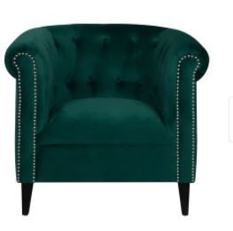 Argenziano Chesterfield Accent Chair  Retail 246 49