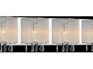 Silver Orchid Brendel 4 light Wall Sconce  One Sconce Has Come Unattached