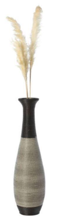 Tall Decorative Artificial Rattan Wire Pattern Floor Vase 40 Inch  Retail 109 49