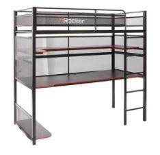 Incomplete Item X Rocker Black and Red No light Gaming Desk  Bunk Bed Box 2 of 2  Retail 599 99