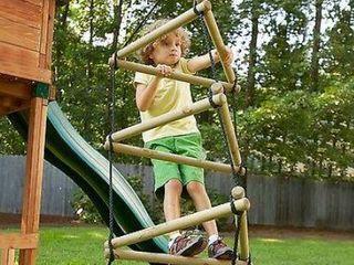 Swing N Slide Triangle Rope ladder  Retail 91 49