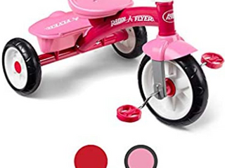 Small Pink Tri Cycle Radio Flyer