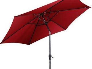 Bluu 10 patio umbrella maroon