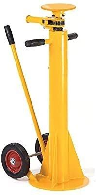 100 000 lb  Static Capacity Standard Duty Trailer Stabilizing Jack Stand  MISSING TOP PlATE