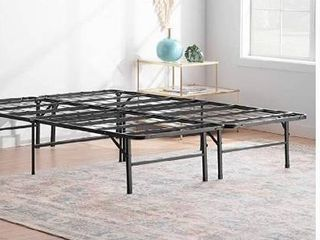 linenspa 14 Inch Folding metal platform Bed Frame   13 Inches Of Clearance   Ton