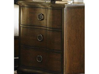 545 br61 liberty Furniture Cotswold 3 Drawer Night Stand DAMAGED
