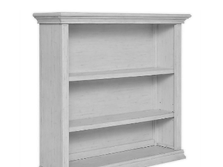 Dom family elvour collection   hutch bookcase   Pebble Grey     not Inspected