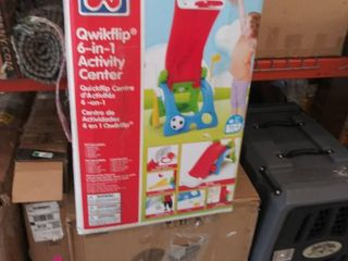 Grow  n Up Quick Flip 6 in 1 Toddler Slide and Sport Activity Center