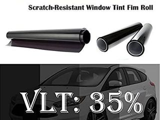 Mkbrother 2PlY 1 8 mil Premium 35  VlT 60 in x 100 Ft  60 x 1200 Inch  Feet Uncut Roll Window Tint Film