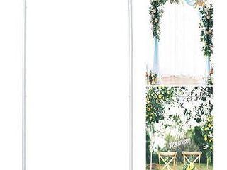lejoy Garden wedding arch white