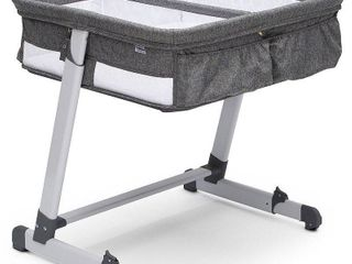 Simmons Kids By The Bed Twin City Sleeper Bassinet  Med Grey