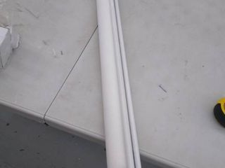 Baby retractable extendo gate   31 1 2 inch tall