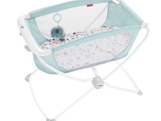 Fisher Price Rock with Me Bassinet  Pacific Pebble