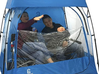 Easy Go Cover ups Sports 2 person Tent   blue