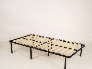 Sleep Master My Euro Smart Base Wooden Slats Mattress Foundation  Twin