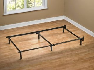 Sleep Revolution Compack Bed Frame with 6 leg Support System  twin
