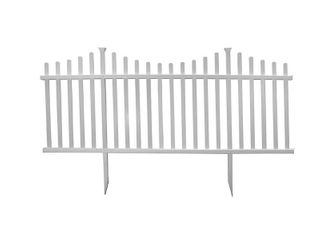 Manchester No Dig Vinyl Fence Kit  42in x 92in   2 Pack