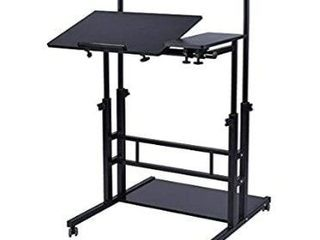 AIZ Adjustable Standing Desktop Small Black