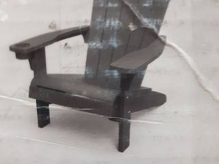 Keter Adirondack Chair Gray